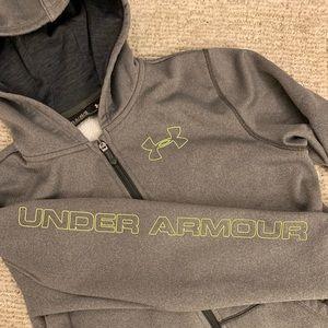 Boys Under Armour Zip-up Hoodie